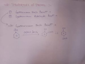 Properties Of Phenol In Hindi