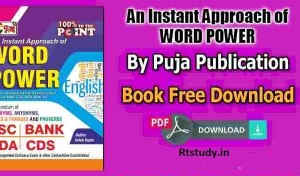 PUJA An Instant Approach of WORD POWER Free Pdf Download